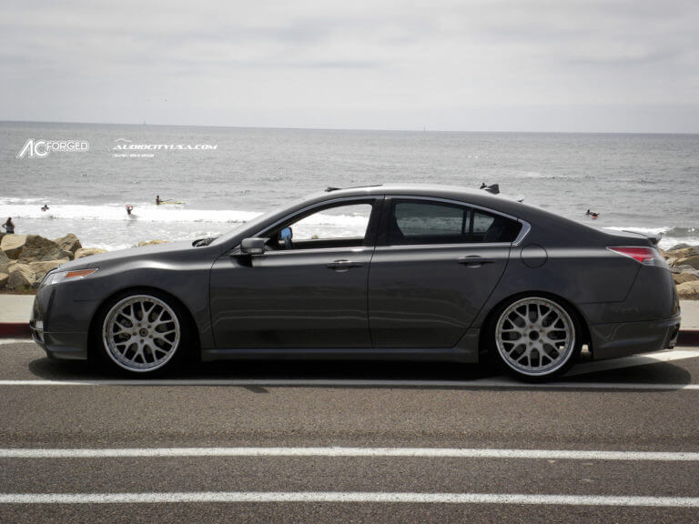 STANCED ACURA TL | DUAL LIP 20&#8243; AC Forged 818 | Falken tires | ======> Must see Thread<======