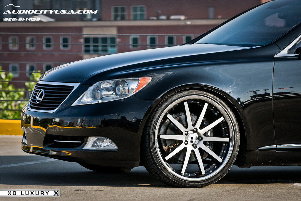 "22"" XO Luxury Paris wheels"