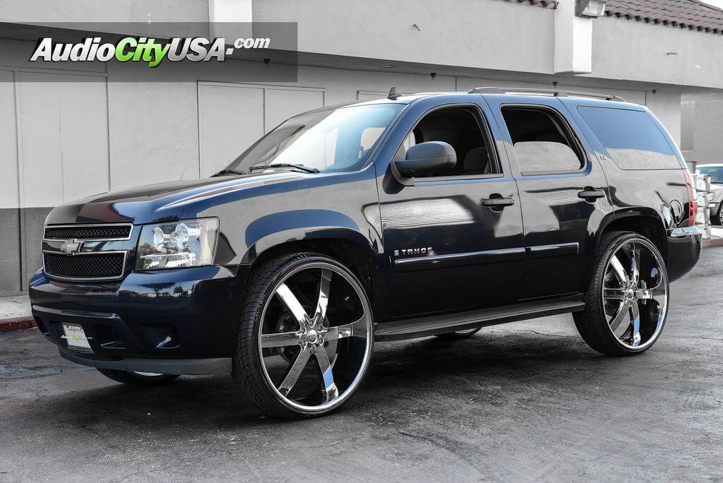 2013 Chevy Tahoe 30 Quot U2 Wheels 55 Chrome Rims