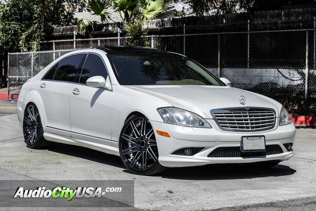 2009 mercedes benz s550 22 road force wheels rf 11 for Mercedes benz staggered wheels