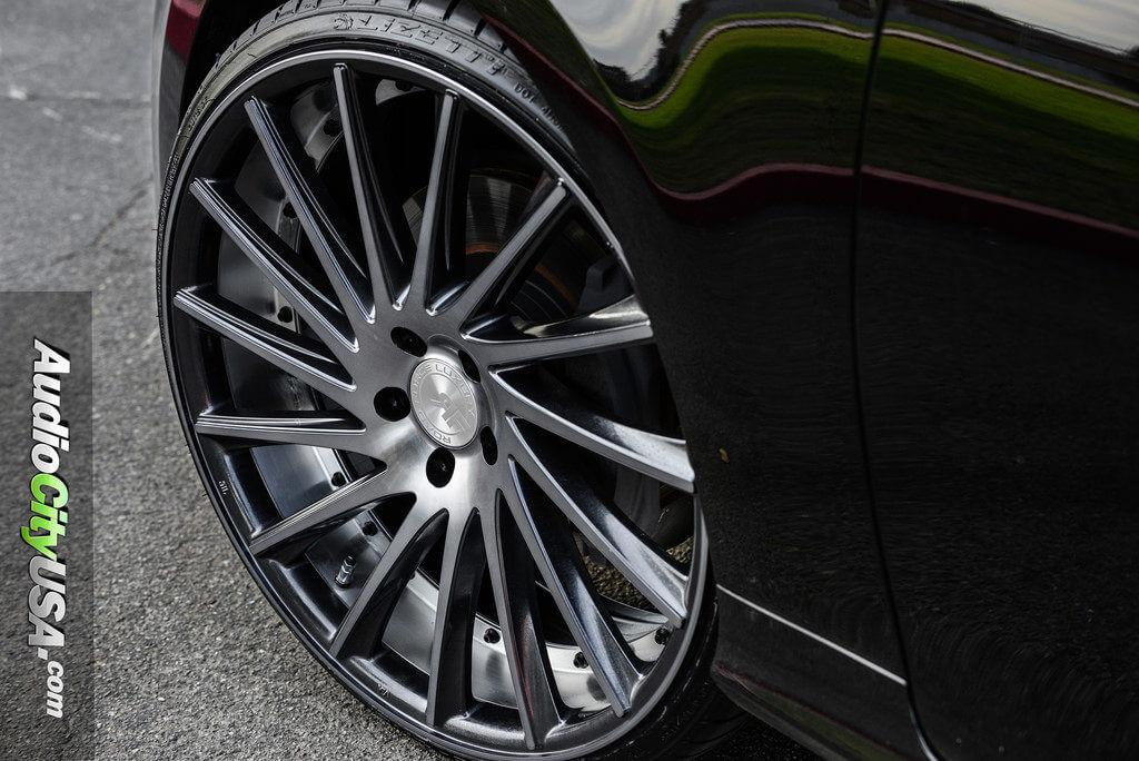 "Lexus El Monte >> 2013 Lexus GS 350 | 22"" Road Force Wheels RF-16 Gun Metal Machine | AudioCityUsa - BlogBlog"