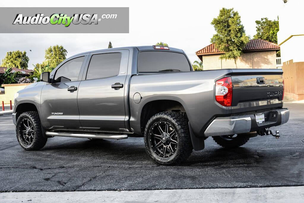 2016 Toyota Tundra 20 Quot Fuel Wheels Maverick D538 Satin