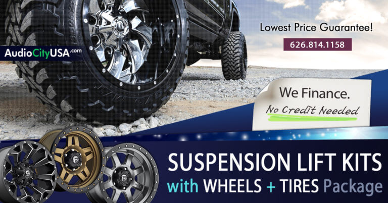 Suspension Lift Kit Financing Available(Wheels+Tires+Likt kits)