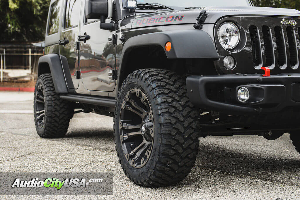 2017 Jeep Wrangler Rubicon 20 Quot Fuel Wheels D569 Vapor