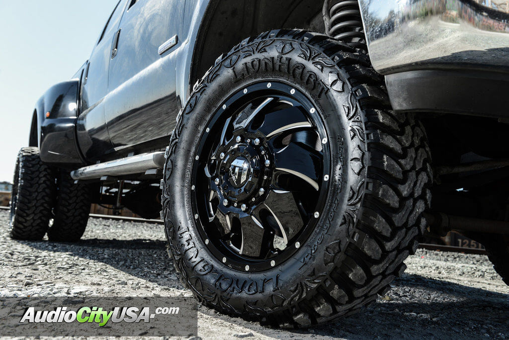 20 fuel wheels d574 cleaver dually gloss black milled rims 4 fordf350dually20fuelwheelscleaveroffroadrimsaudiocityusa 1fordf350dually20fuelwheelscleaveroffroadrimsaudiocityusa sciox Gallery