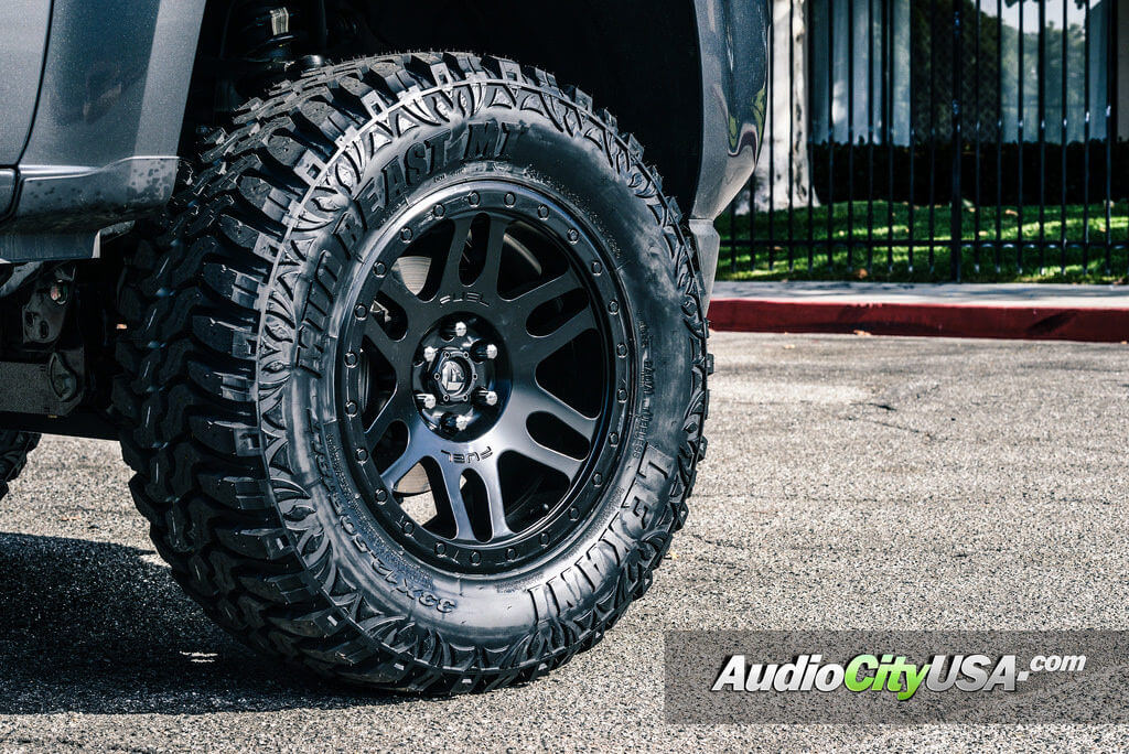 1 Fuel Wheels Recoil D584 Rims Offroad Bk 2016 Chevy Colorado Audiocityusa 2