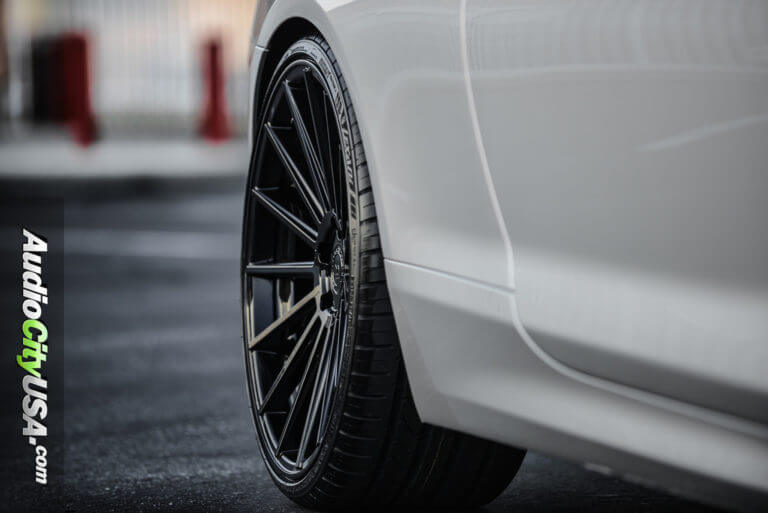 2014 BMW 650i   22″ Road Force Wheels RF-15 Gloss Black Rims   AudioCityUSA