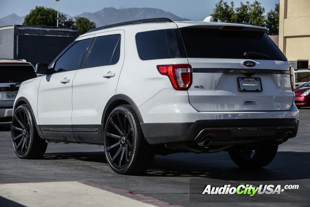 2016 ford explorer 24 strada wheels osso audiocityusa. Black Bedroom Furniture Sets. Home Design Ideas