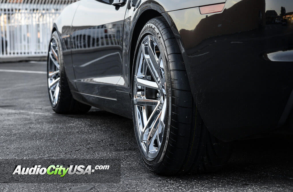 2012 Chevy Camaro Ss Convertible 20 Quot Zl1 Replica Wheels