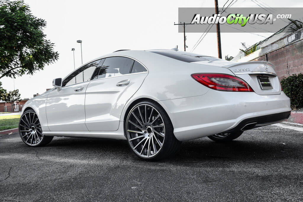 2013 Mercedes Benz Cls 550 22 Quot Road Force Wheels Rf 16 Gunmetal Machined Rims Audiocityusa