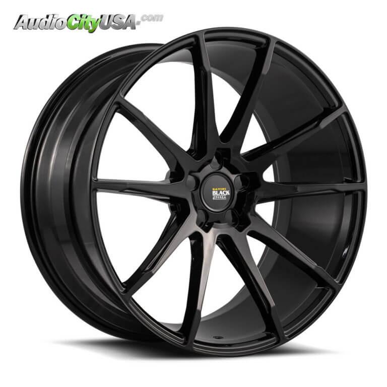 2016 BMW i8 | 22″ Savini Wheels BM12 Glossy Black Lightweight Rims | AudioCityUSA