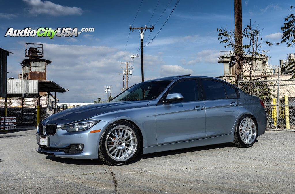 3_2013_bmw_328i_18_str_racing_wheels_silver_machine_514_rims_audiocityusa