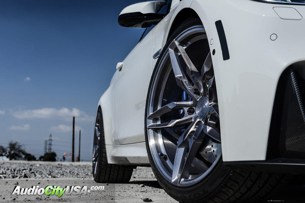 "Rims Vs Wheels >> 2016 BMW M4 | 20"" VS Forged Wheels VS03 Titanium Brushed Rims with Toyo Proxies 4 Plus 