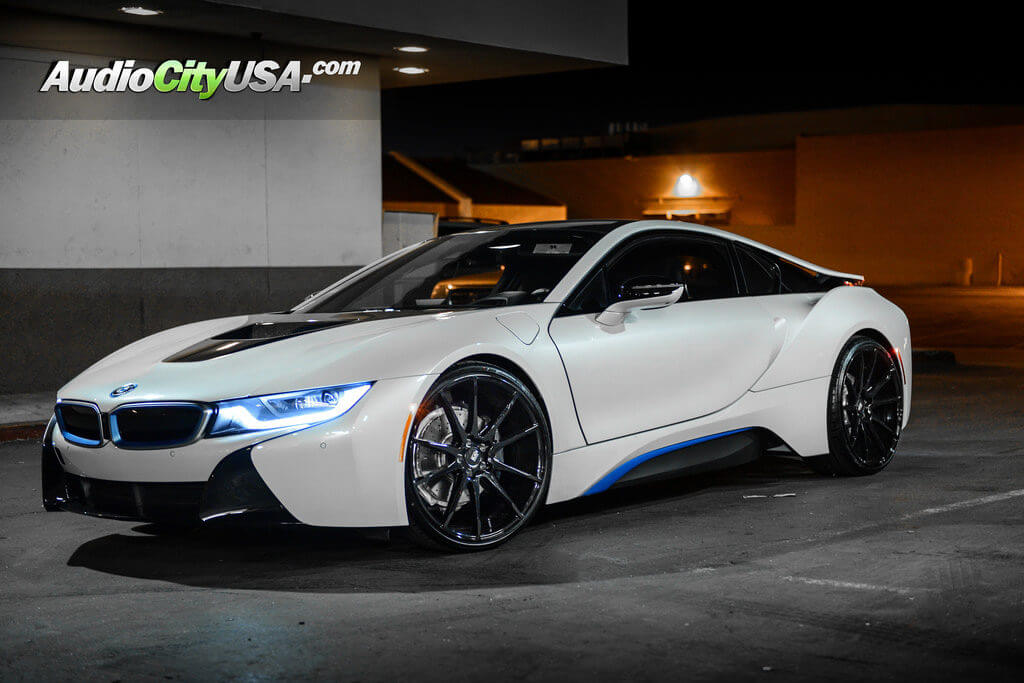 2016 Bmw I8 22 Savini Wheels Bm12 Glossy Black Lightweight Rims