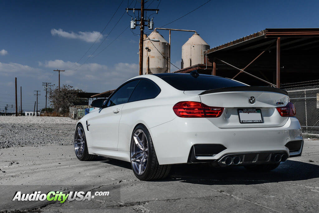 2016 Bmw M4 20 Quot Vs Forged Wheels Vs03 Titanium Brushed