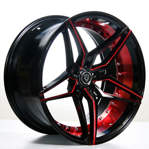 20 Quot Mq Wheels 3259 Custom Painted Sublime Metallic