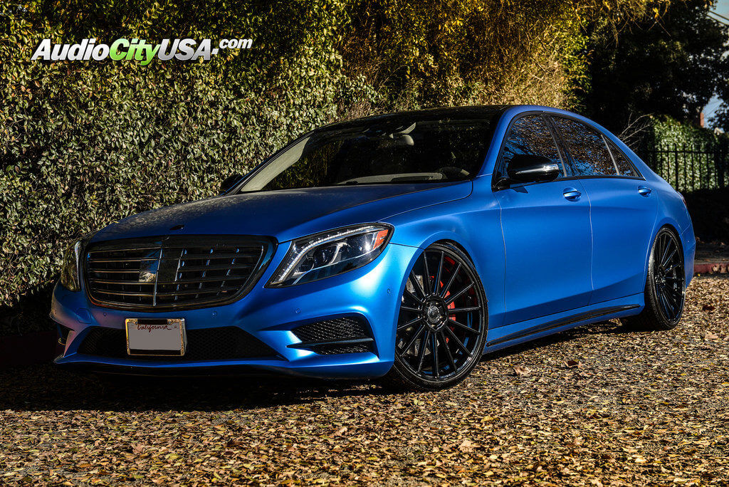 "West Covina Mercedes >> 2014 Mercedes Benz S550 | 22"" Road Force Wheels RF15 Gloss ..."
