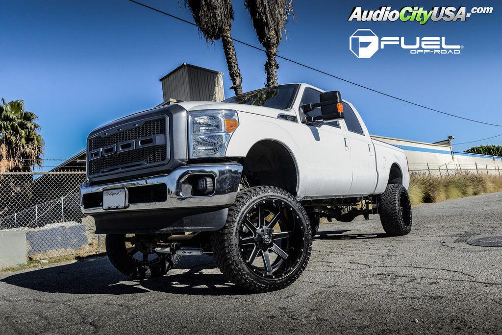 4_ford_f-250_fuel_maverick_d262_black_atturo_tires_audiocityusa_offroad