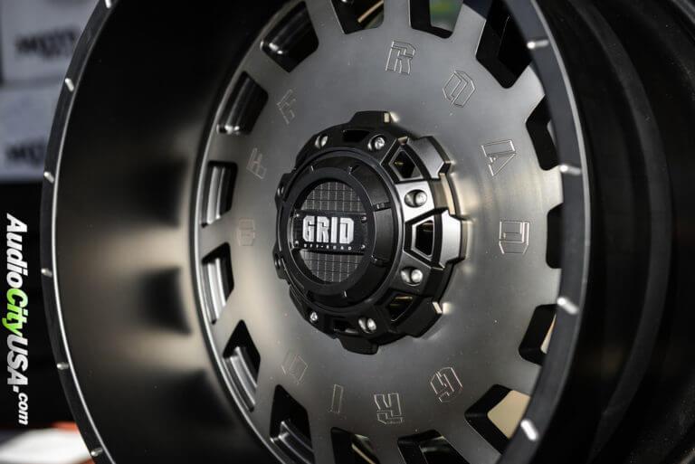 22×12 Grid GD03 matte black lip, matte bronze Face | Jeep Wrangler JK | AudioCityUSA