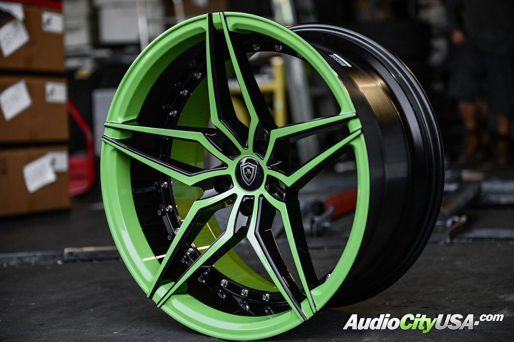 20 Quot Mq Wheels 3259 Custom Painted Sublime Metallic