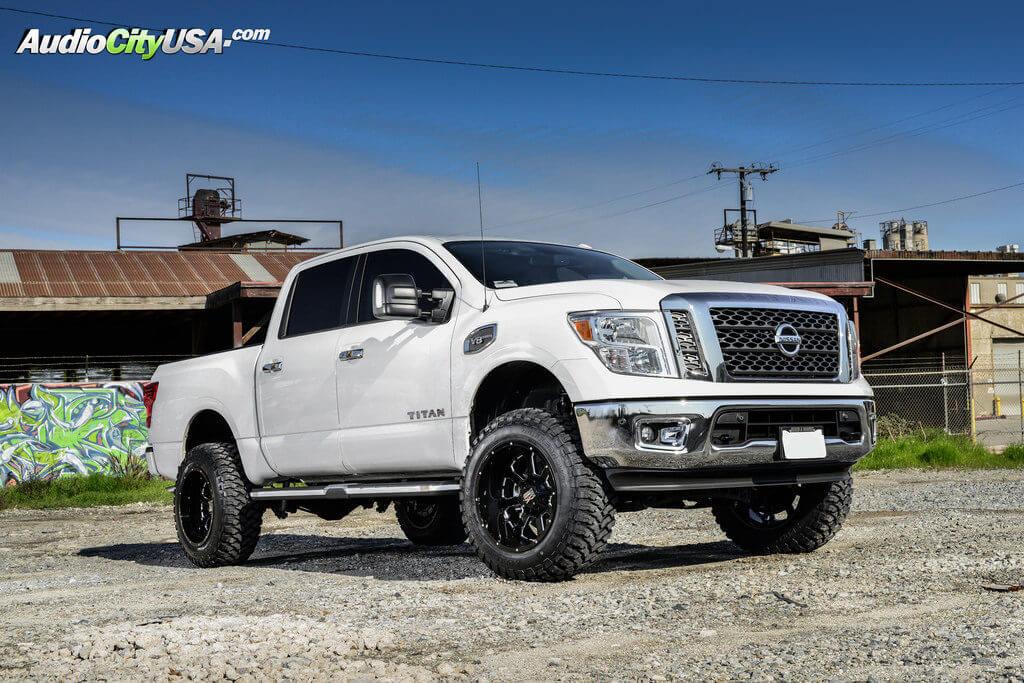 2017 nissan titan 20 xd wheels xd825 buck25 gloss black