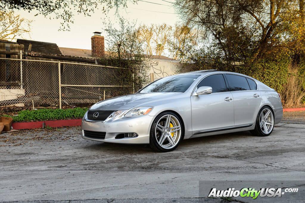 http://audiocityusa.com/shop/blog/wp-content/uploads/2017/01/8_Lexus_gs460_Rennen_CSL3_Silver_machine_wheels_rims_AudioCityUsa-1024x684.jpg