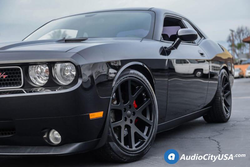 "20"" Dodge LX Viper Wheels Satin Black OEM Replica Rims"