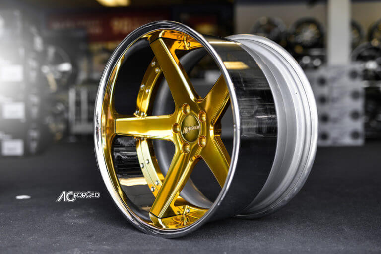 20″ AC Forged Wheels ACR 405     Mercedes Benz CLS Wide Body     AudioCityUsa