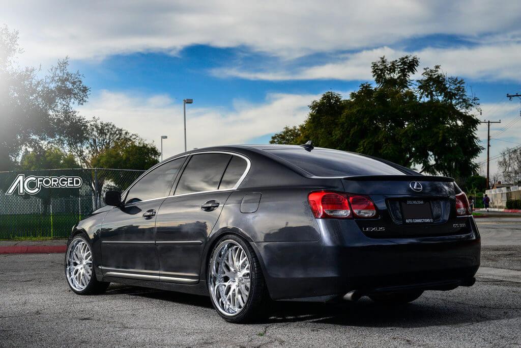 5_Lexus_GS_350_20_AC_Forged_Wheels_313_Brush_Face_Chrome_LIP_AudioCityUsa