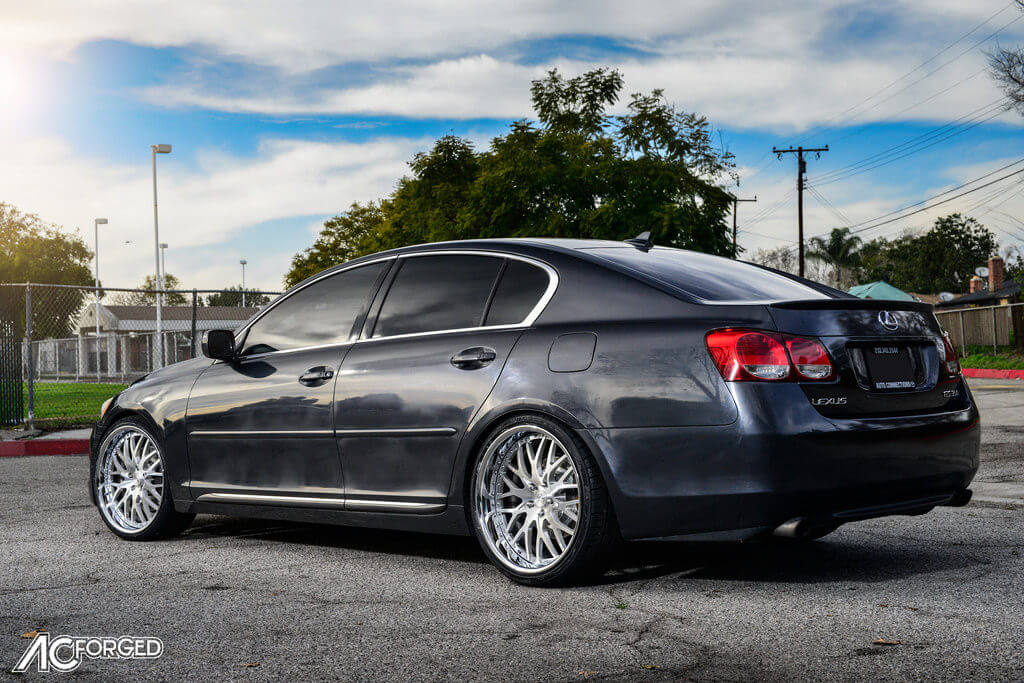 Lexus_GS_350_20_AC_Forged_Wheels_313_Brush_Face_Chrome_LIP_AudioCityUsa