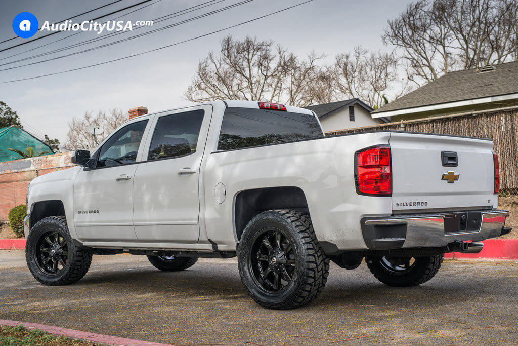 2_Chevy_Silverado_1500_20x9_Fuel_Hydro_D604_Black_Wheels_AudioCityUsa