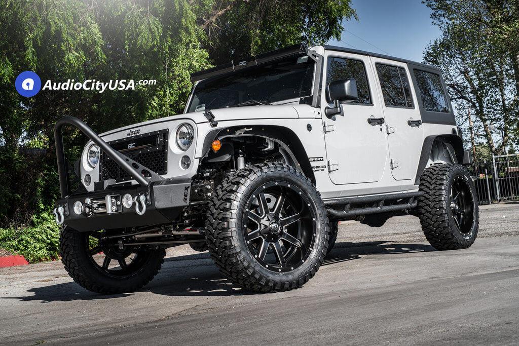 5_2017_Jeep_Wrangler_jk_22_Fuel_Maverick_D538_Wheels_Rims_Rough_Country_AudioCityUsa