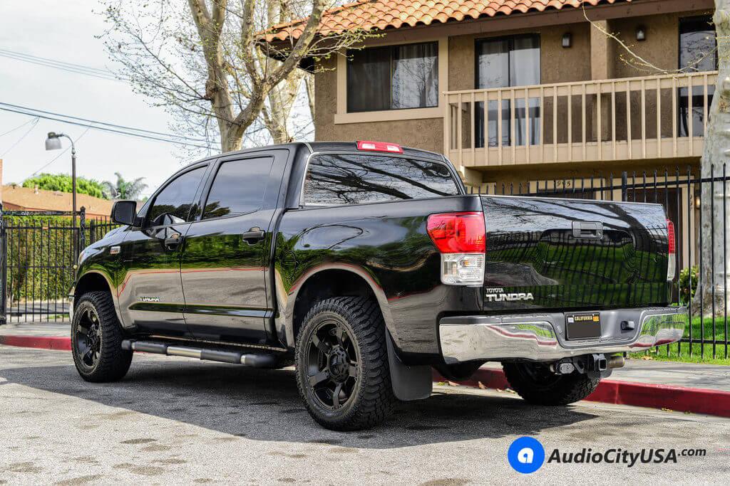 5_Toyota_Tundra_20_XD811_Matte_Black_Rockstar_wheels_rims_AudioCityUsa