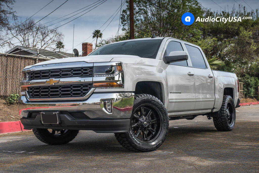 6_Chevy_Silverado_1500_20x9_Fuel_Hydro_D604_Black_Wheels_AudioCityUsa