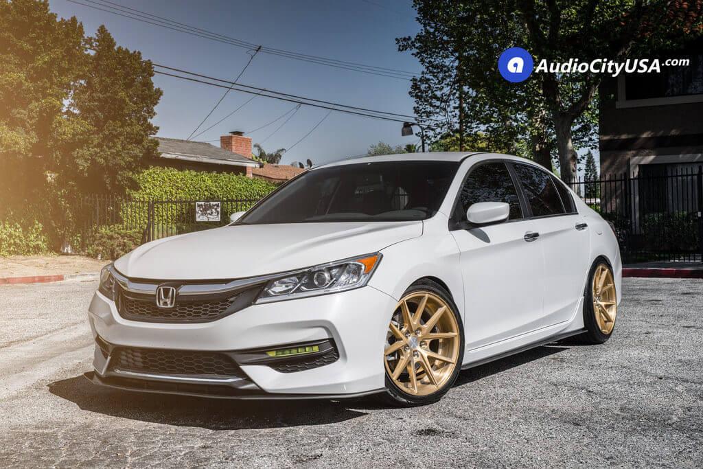 1_2017_Honda_Accord_Rennen_19x9.5_crl_55_wheels_Rims_Brush_Champagne_AudioCityUsa