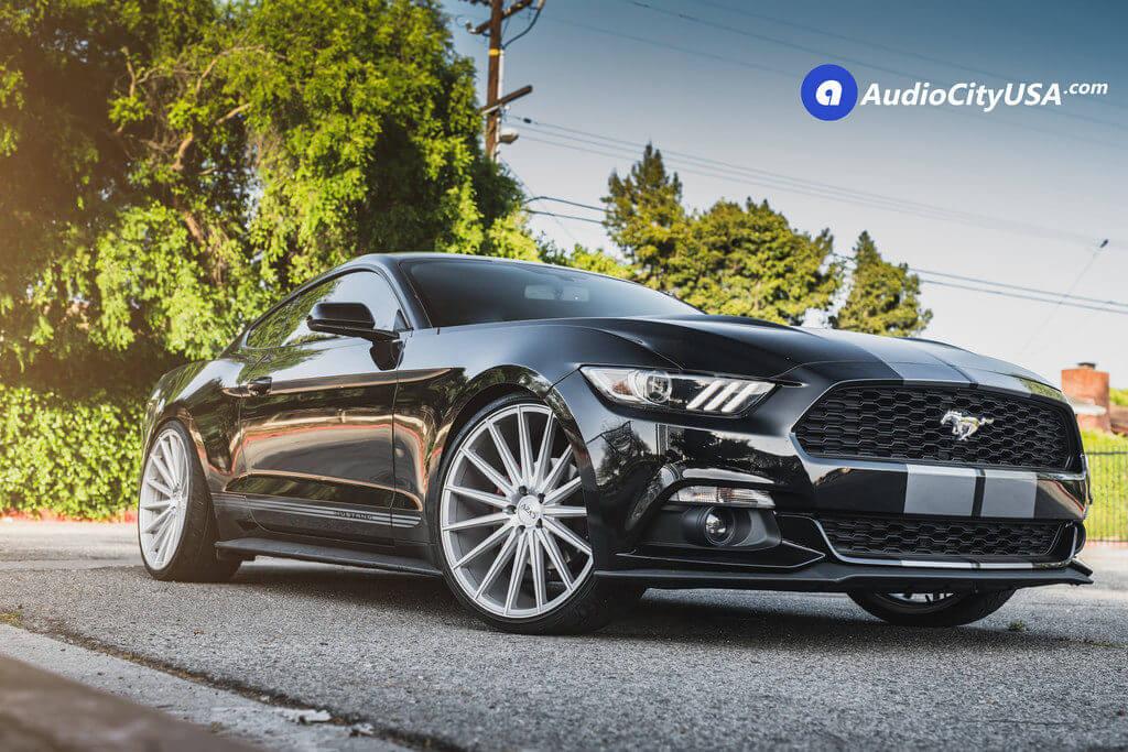 2_2016_Ford_Mustang_5.0_22_AZAD_AZ48_Silver_Wheels_AudioCItyUsa
