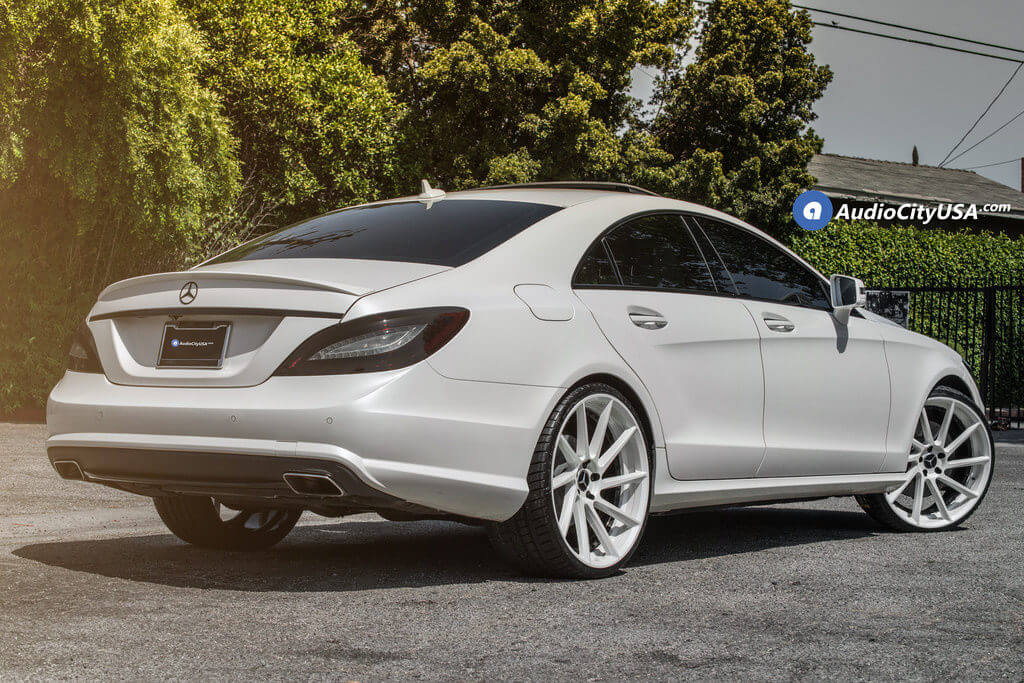 2014 mercedes benz cls550 22 erw wheels erw 3 custom