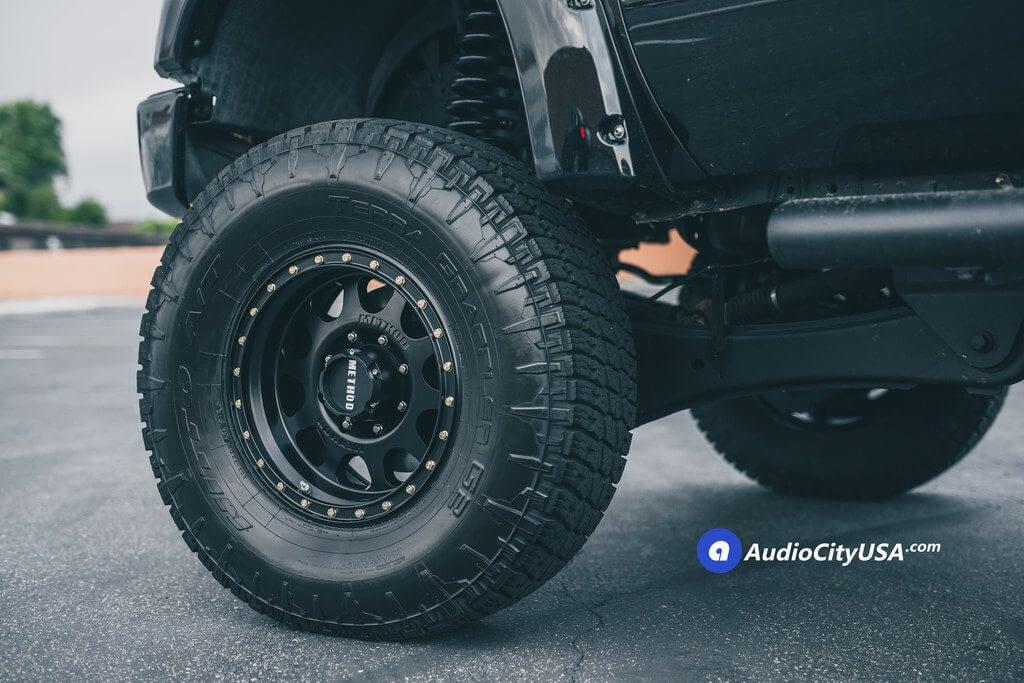 1_Ford_F250_Method_wheels_18x9_VEX_311_rims_Offroad_AudioCityUsa