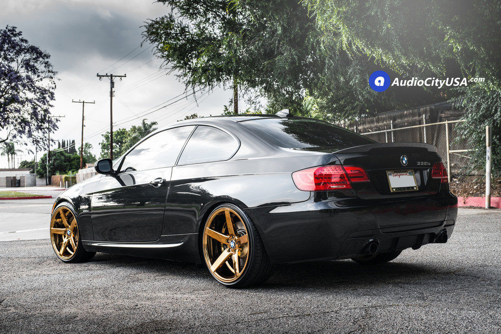 2_2011_BMW_335is_20_str_607_gold_wheels_rims_concave_AudioCityUsa