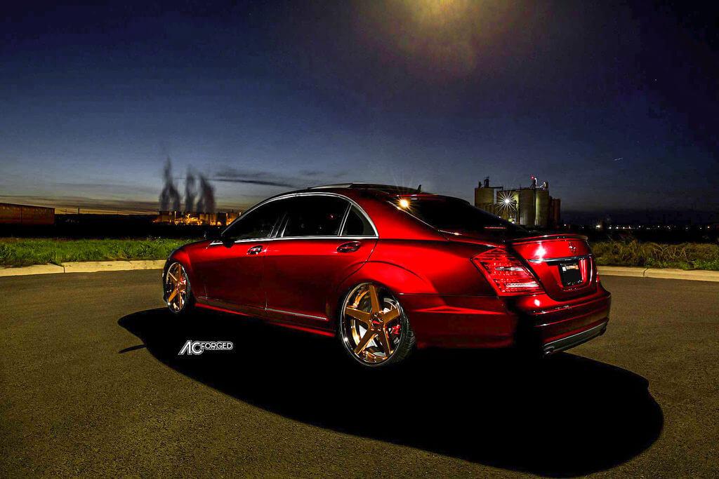5_2009_Mercedes_benz_S550_AC_Forged_ACR_405_24ktGold_Wheels_AudioCityUsa