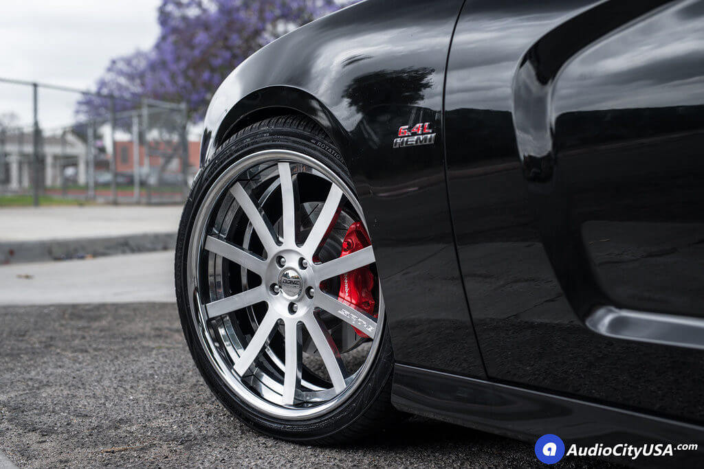 8_2013_Dodge_Charger_srt-8_22_Donz_Forged_Wheels_Siegel_Brush_Face_Polish