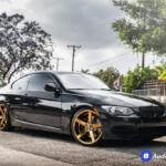 9_2011_BMW_335is_20_str_607_gold_wheels_rims_concave_AudioCityUsa