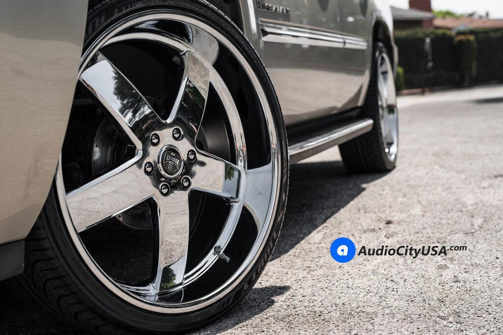 26″ DUB Wheels Big Baller S222 Chrome Rims