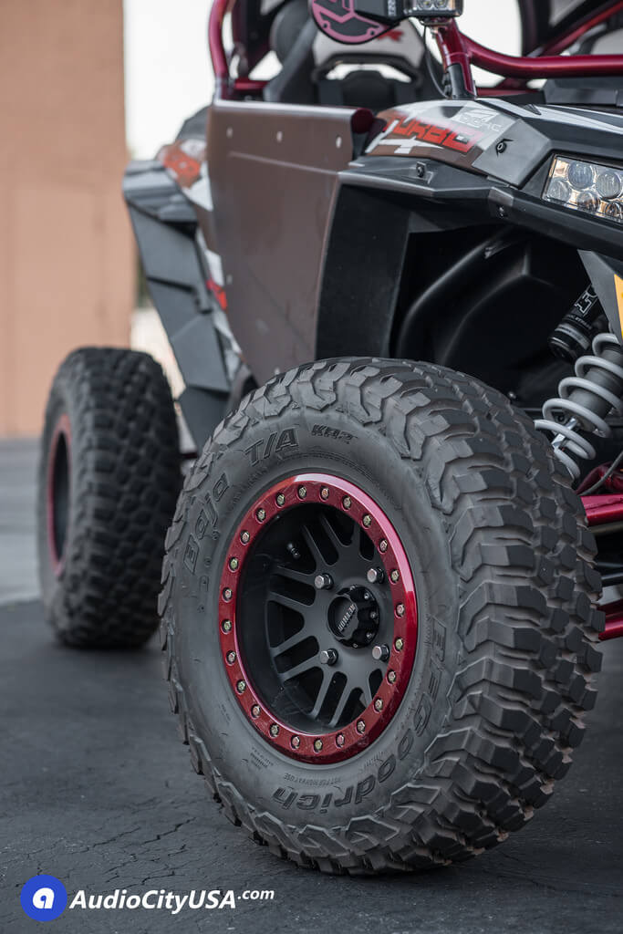 Polaris Rzr 15 Quot Method Wheels Utv 406 Beadlock 30x9