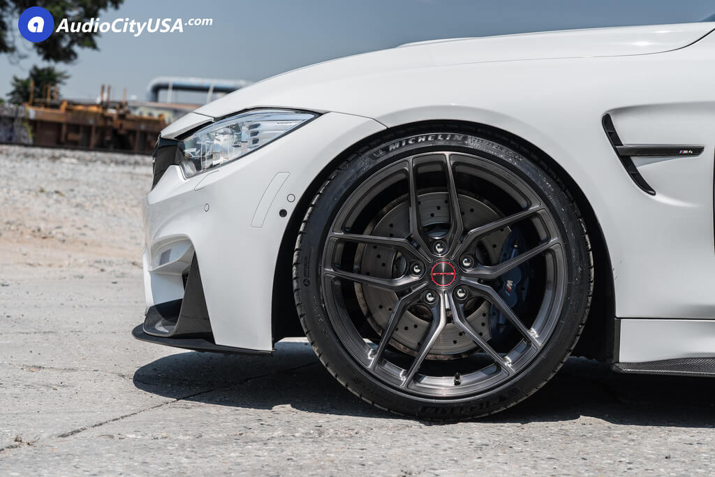 """20"""" Stance Wheels SF03 Gloss Black Tinted Machined Rims"""