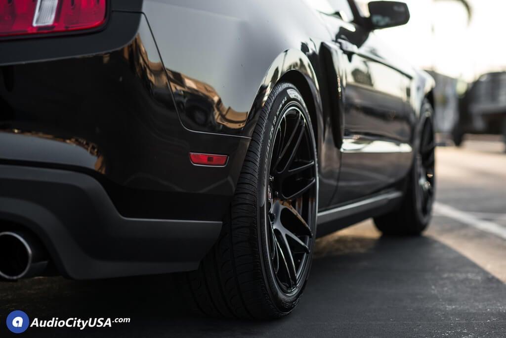 Ford Mustang Curva Wheels C Gloss Black Audiocityusa
