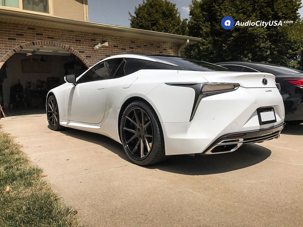 21 Rennen Wheels Crl 55 Custom Prismatic Bronze Rims 2018 Lexus
