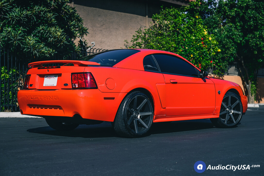 2004 Ford Mustang Gt 20 Quot Niche Wheels Verona M150 Black Face Double Tint Face Deep Concave