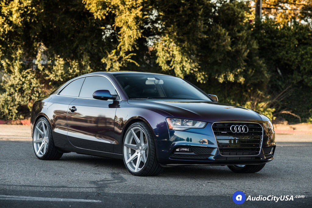 2014 Audi A5 20 Quot Rohana Wheels Rc7 Silver Machined Rims