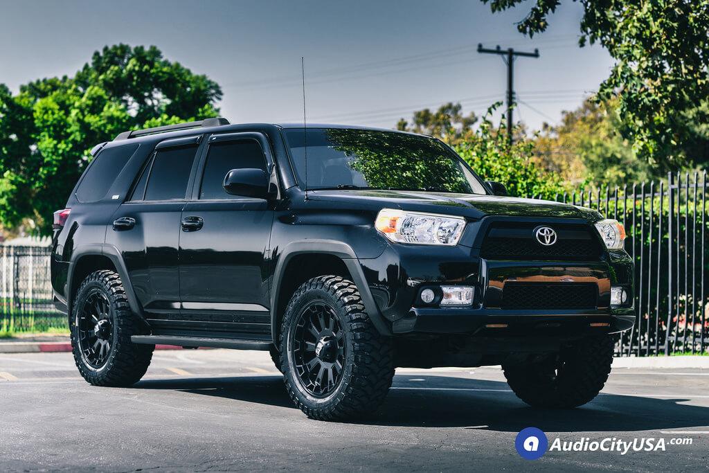 20 Quot Xd Wheels Xd800 Misfit Satin Black Rims 2014 Toyota
